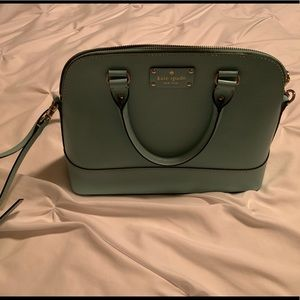 Kate Spade bag in gorgeous Tiffany Blue.
